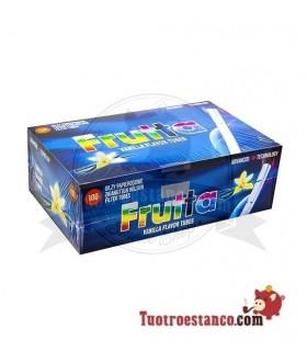 Tubos Frutta Vainilla 1 cajita de 100 tubos