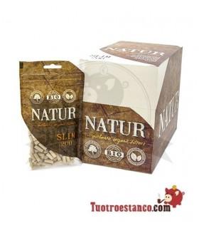 Filtros orgánicos Natur 200 filtros - 20 bolsas