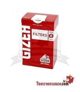 Filtros Gizeh 8 mm cajita