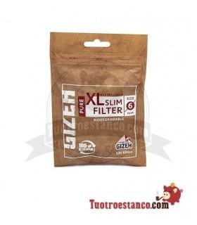 Filtros Gizeh XL orgánicos largo 120 filtros
