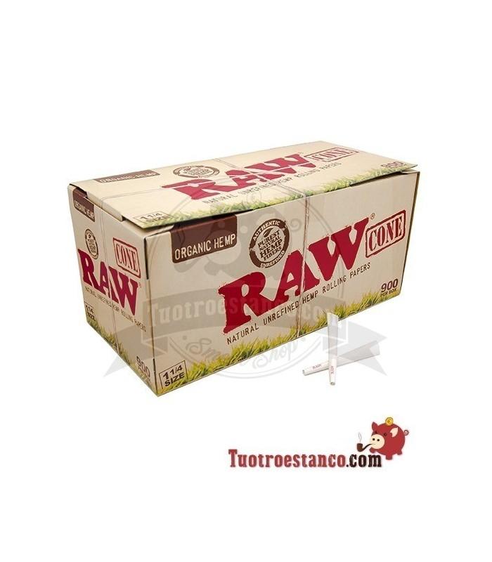Display Conos Raw Orgánico 1 1/4 900 Unidades