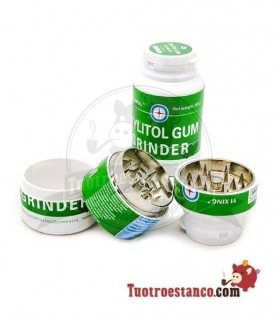 Grinder Metal 3 partes modelo chicle 40 mm