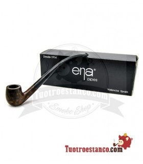 Pipa de Brezo Ena Mini 2001 Churchwarden Bent Apple E-MC422