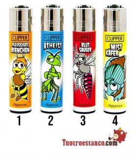 Clipper Colección Alemania Funny Insects