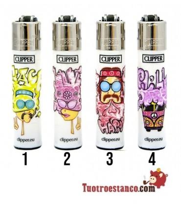 Clipper Micro Hippie Graffiti