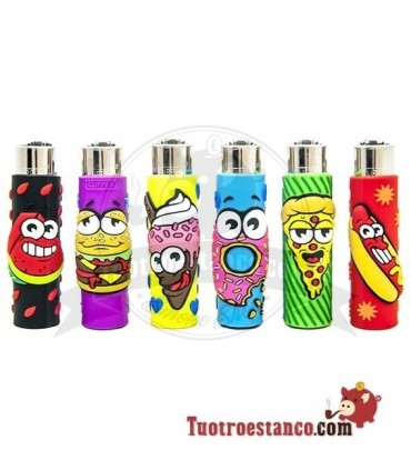 Clipper + Funda Silicona Funny Food
