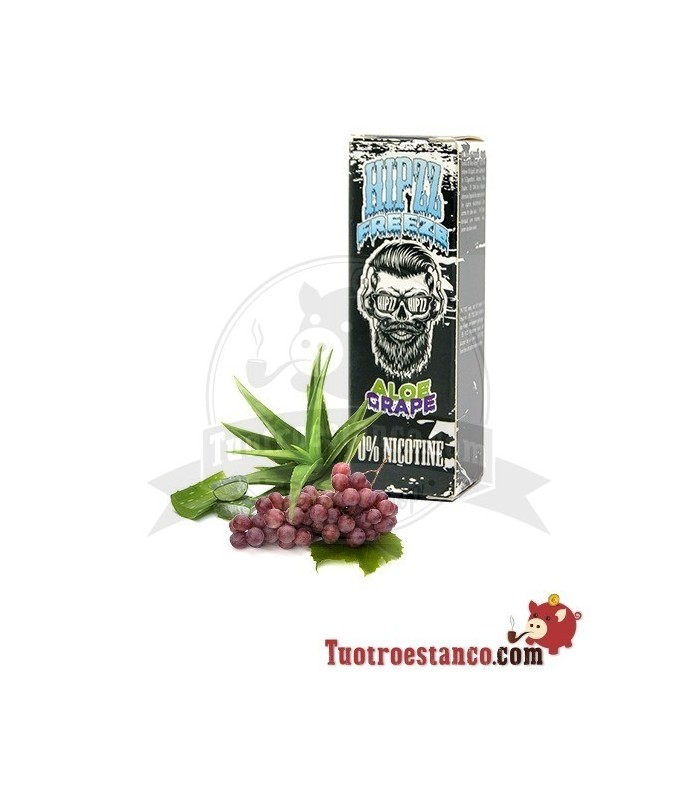 Líquidos Hipzz Aloe y Uva 10 ml