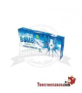 Tubos Fresh Bomb! Menta Fuerte Artic - 1 caja de 100 tubos