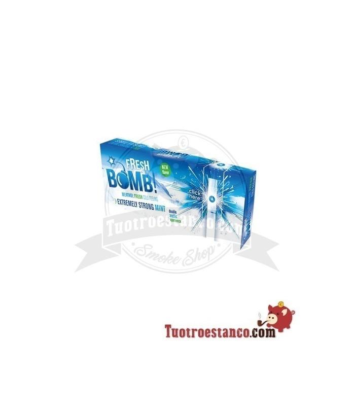 Tubos Fresh Bomb! Menta Fuerte Artic 1 caja de 100 tubos