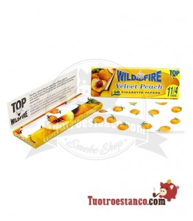 Papel Wild Fire 1 1/4 Melocotón