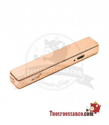 Encendedor USB Novi Slim Rose Gold