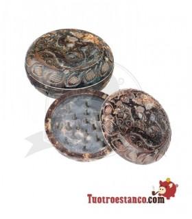 Grinder Piedra Round Om 2 Partes 45mm
