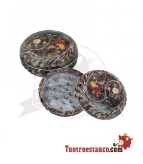 Grinder Piedra Round YingYang 2 partes 45mm