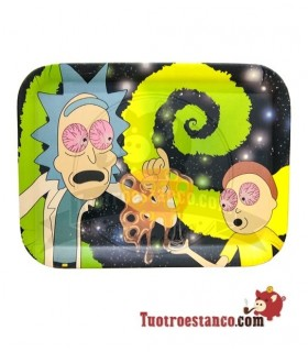 Bandeja Bambú Rick and Morty 33 x 25,5 cm