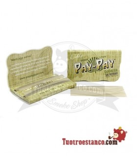 Papel Pay-pay Alfalfa verde Doble ventana de 70 mm