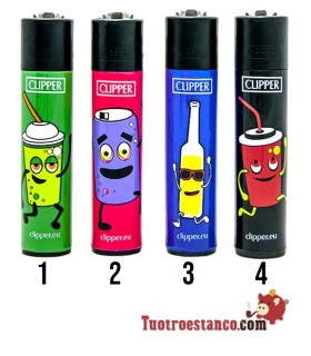Clipper Colección Portugal Fast Food x2