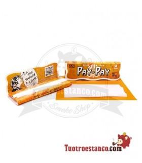 Papel Pay-Pay Naranja Nº8 de 70 mm