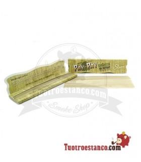 Papel Pay-Pay Alfalfa verde Slim de 110mm