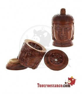Grinder Madera Cabeza Buddha 50mm