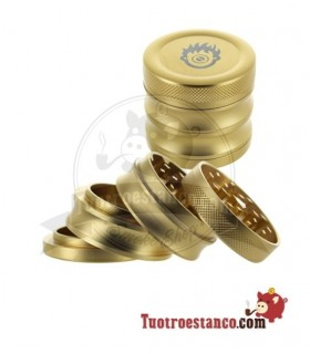 Grinder Metal Golden Kush 56mm