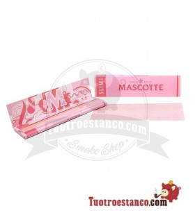 Papel Mascotte Rosa king Size 110mm