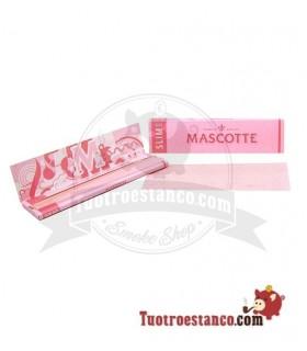 Papel Mascotte Rosa king Size de 110mm