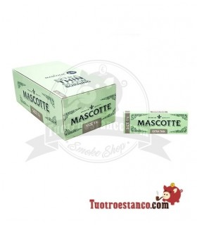 Papel Mascotte 1 1/4 de 78 mm - 50 libritos
