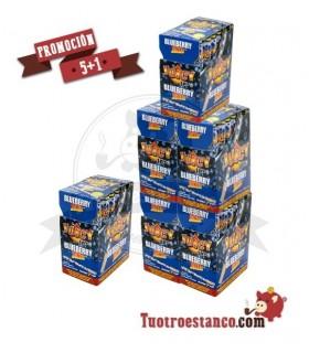 PROMOCIÓN 5 + 1 Estuche de papel Juicy Jay Jones 1 1/4 Arándanos 24 Unidades