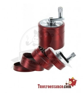 Grinder Molinillo Rojo 50 mm