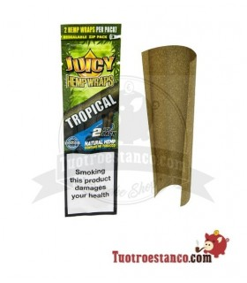 Papel de cañamo Juicy Blunt Tropical