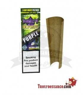 Papel de cañamo Juicy Blunt Purple Uva