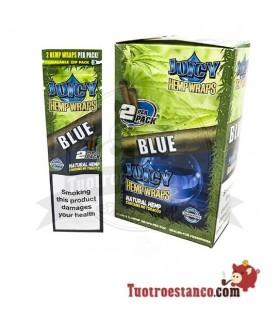 Papel de cañamo Juicy Blunt Blue Arándanos - 25 unidades