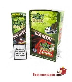 Papel de cañamo Juicy Blunt Red Alert Fresa - 25 unidades