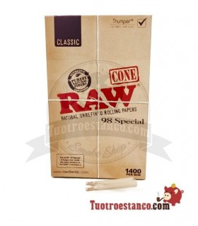 Display Conos Raw 1 1/4 - 98 Special - 1400 unidades