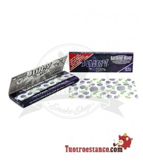 Papel Juicy Jay 1 1/4 78 mm sabor Mora