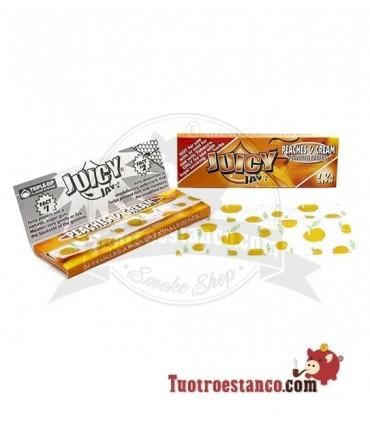 Papel Juicy Jay sabor Melocotón 1 1/4 78 mm