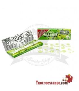 Papel Juicy Jay 1 1/4 78 mm sabor Manzana verde