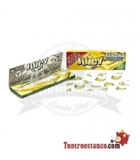 Papel Juicy Jay sabor Banana 1 1/4 78 mm