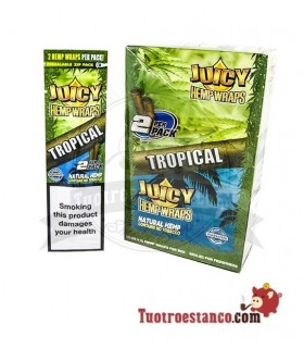 Papel de cañamo Juicy Blunt Tropical(1x25)