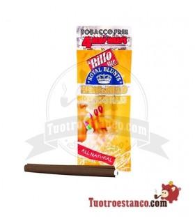 Papel Royal Blunt de Cañamo sabor Mango - 4u