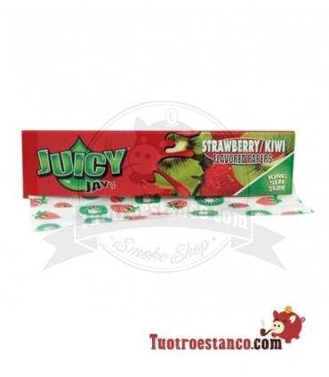 Papel Juicy Jay sabor Fresa y Kiwi King Size 110 mm
