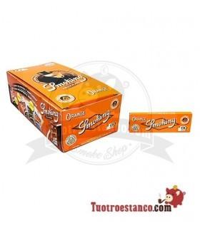 Papel Smoking Naranja Nº8 de 70 mm - 50 libritos