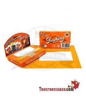 Papel Smoking Naranja 200 de 70 mm