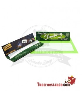 Papel Smoking King Size Green