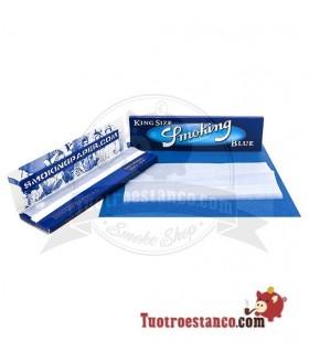 Papel Smoking king Size Azul