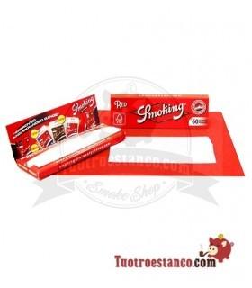 Papel Smoking Rojo Nº8 de 70 mm