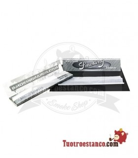Papel Smoking Plata King Size de 110 mm
