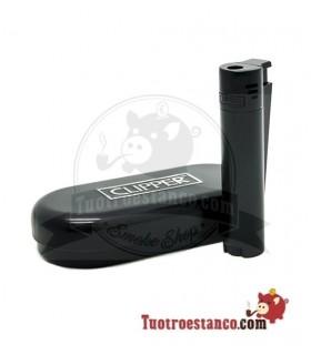 Clipper metálico soplete Black + estuche Cipper metálico