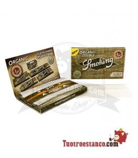 Papel Smoking Orgánico Doble Ventana de 70 mm