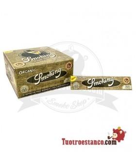Papel Smoking Orgánico King Size de 110 mm - 50 libritos